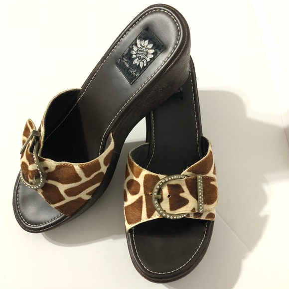 32dd958dc3ec Yellow Box Women s Shoes-Platform Wedges Calf Hair